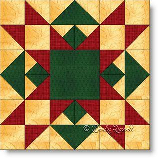 Christmas Star - Free Quilt Block Pattern : christmas star quilt block - Adamdwight.com